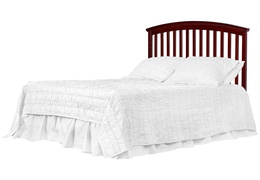 Cherry Niko Full Bed With Changer Silo