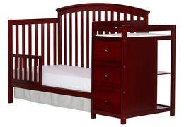 Cherry Niko Toddler Bed With Changer Silo