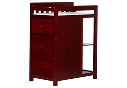 Cherry Niko Changing Table Silo