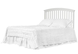 White Niko Full Bed With Changer Silo