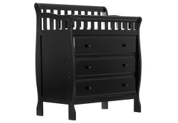 Marcus Changing Table & Dresser - Black