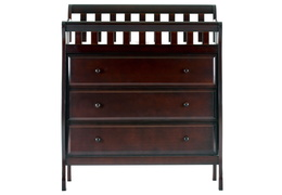 Marcus Changing Table & Dresser - Espresso