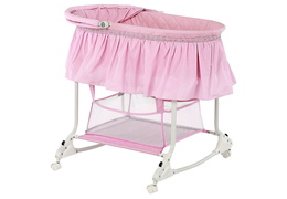Pink Willow Bassinet