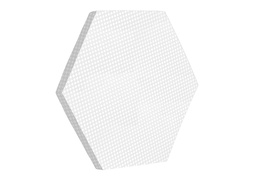 Hexagon Firm Mattress Pad