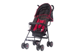 Dark Red Galaxy Stroller
