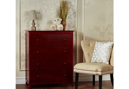Cherry Arlington 4 Drawer Chest RS