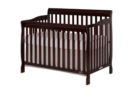 Espresso Ashton 5 in 1 Convertible Crib Silo Side