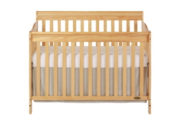Natural Ashton 5 in 1 Convertible Crib Silo Front