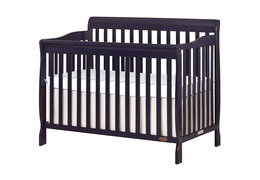Navy Ashton 5 in 1 Convertible Crib Slio Side