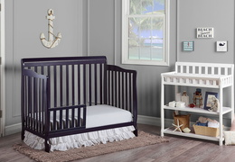 Navy Ashton Toddler Bed RS