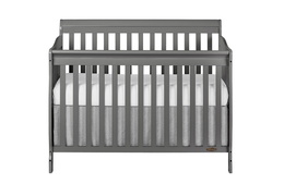 Storm Grey Ashton 5 in 1 Convertible Crib Silo Front