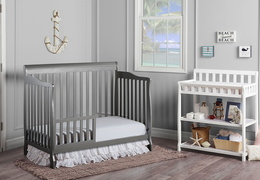 Storm Grey Ashton Toddler Bed RS