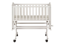White Lullaby Cardle Glider Silo Front