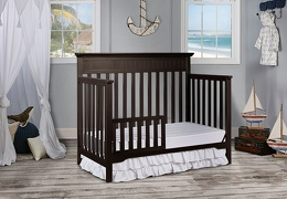 Dark Espresso Chesapeake Toddler Bed RS