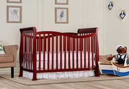 Cherry Violet 7 in 1 Convertible Crib RS