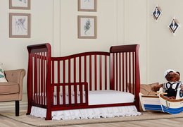 Cherry Violet 7 in 1 Toddler Bed RS