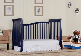 Royal Blue Violet 7 in 1 Day Bed RS