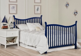 Royal Blue Violet 7 in 1 Full Bed Headfoot RS