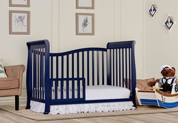Royal Blue Violet 7 in 1 Toddler Bed RS