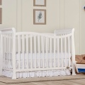 White Violet 7 in 1 Convertible Crib RS
