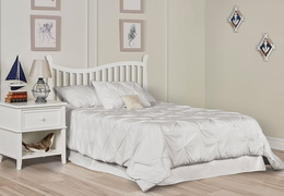 White Violet 7 in 1 Full Bed RS