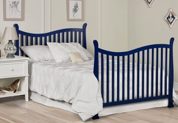 Royal Blue Violet 7 in 1 Full Bed Headfoot RS3