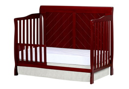 Cherry - Ashton Full Panel Toddler Bed Side Silo