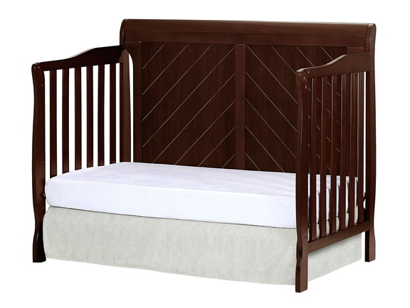 Espresso - Ashton Full Panel Day Bed Side Silo