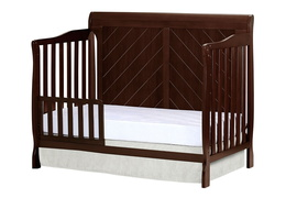 Espresso - Ashton Full Panel Toddler Bed Side Silo