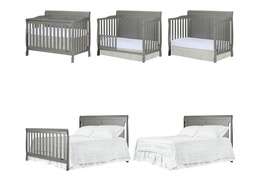 Ashton Full Panel 5 in 1 Convertible Crib Collage