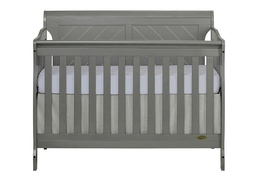 Ashton Full Panel 5 in 1 Convertible Crib Front Silo