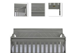 Ashton Full Panel 5 in 1 Convertible Crib Details