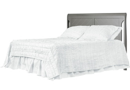 Ashton Full Panel Full Bed with HeadBoard Silo