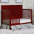 Alexa 5 in 1 Convertible Crib Toddler Bed Room Scene
