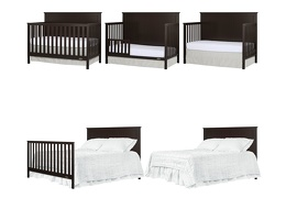 Alexa 5 in 1 Convertible Crib Collage