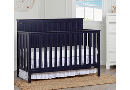 Alexa 5 in 1 Convertible Crib Zoom Room Scene