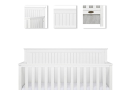 Alexa 5 in 1 Convertible Crib Details