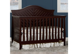 Kaylin 5 in 1 Convertible Crib Zoom Room Scene
