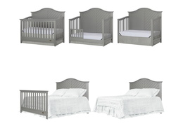 Ella 5 in 1 Convertible Crib Collage