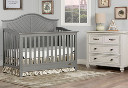 Ella 5 in 1 Convertible Crib Room Scene
