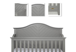 Ella 5 in 1 Convertible Crib Details