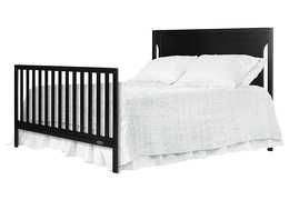 Black - Cape Cod Full Bed Headfoot Silo