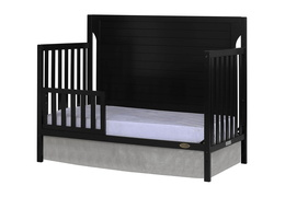 Black - Cape Cod Toddler Bed Silo