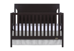 Dark Espresso - Cape Cod 5 in 1 Convertible Crib Silo Front