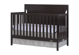 Dark Espresso - Cape Cod 5 in 1 Convertible Crib Silo Side