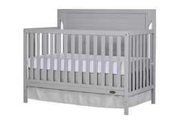 Pebble Grey - Cape Cod 5 in 1 Convertible Crib Silo Side