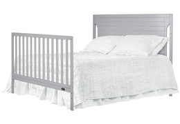 Pebble Grey - Cape Cod Full Bed Headfoot Silo