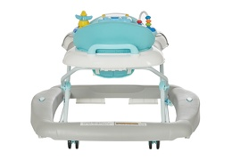 Grey 2 in 1 Crossover Musical Walker and Rocker