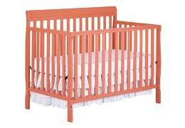 Fusion Coral Alissa 5 in 1 Convertible Crib Silo Side