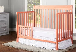 Fusion Coral Alissa Toddler Bed RS